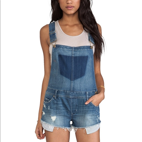 5e87e7657 Blank NYC Shorts | Blanknyc Bunch Of Fives Denim Short Overalls ...